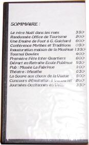 sommaire cassette 2002